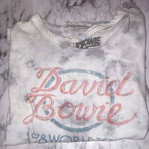 Blue the dye David Bowie shirt